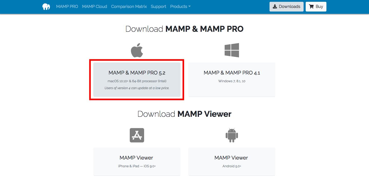 2019年版】MAMPのインストール方法(Windows & Mac対応)